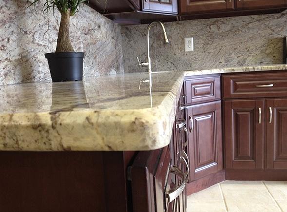 Kitchen Sink Tile Countertop