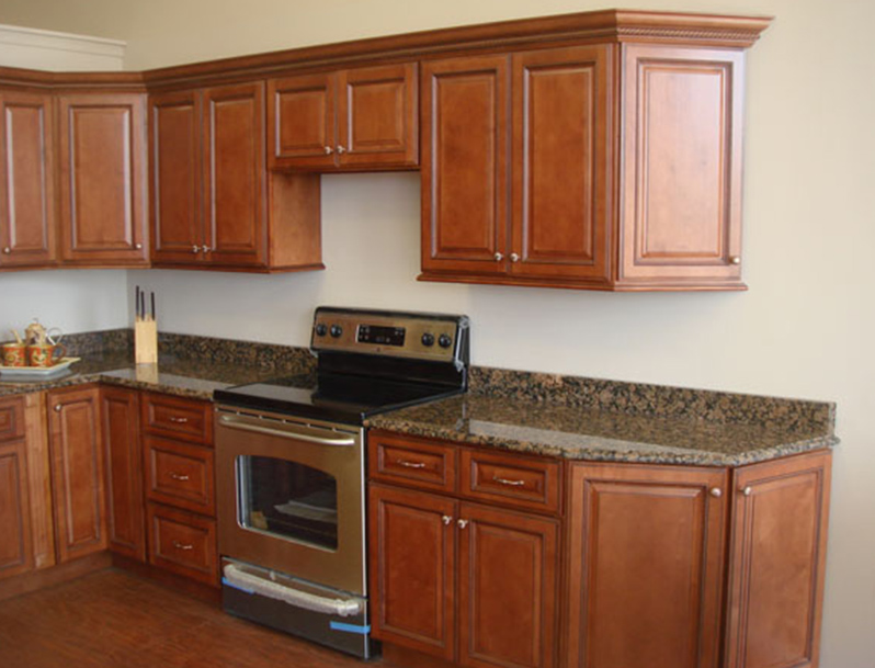 Countertop Installation Mt. Laurel NJ | C&S Kitchen and Bath - cabinet-baltic-brown