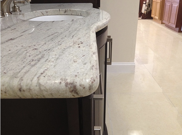 Countertop Edging Accents Mt. Laurel NJ | C&S Kitchen and Bath - full_bullnose_edge